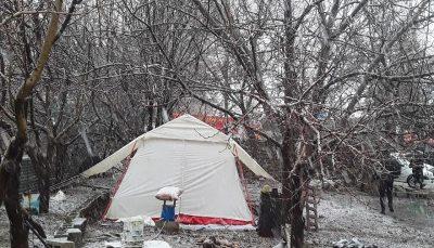 2 هزار چادر در مناطق زلزلهزده توزیع شد