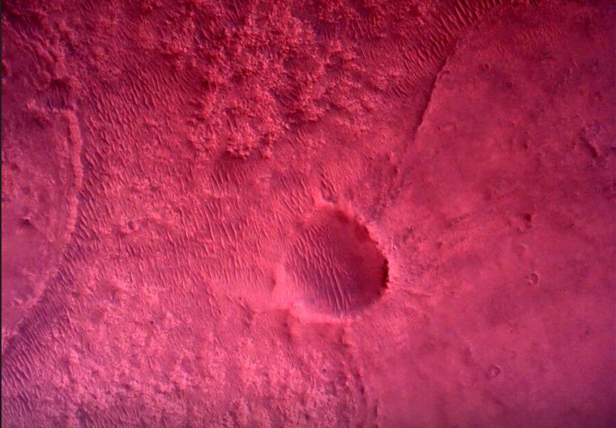 عکسهای بینظیر از سیاره سرخ که «استقامت» فرستاده است