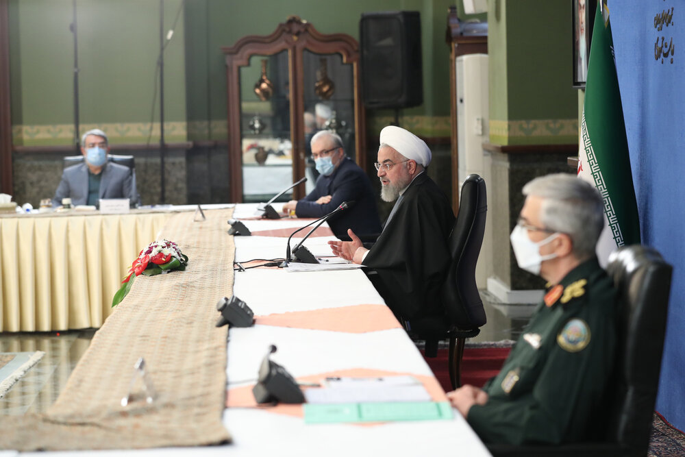 دستورات روحانی درباره انتخابات 1400 و واکسیناسیون کرونا