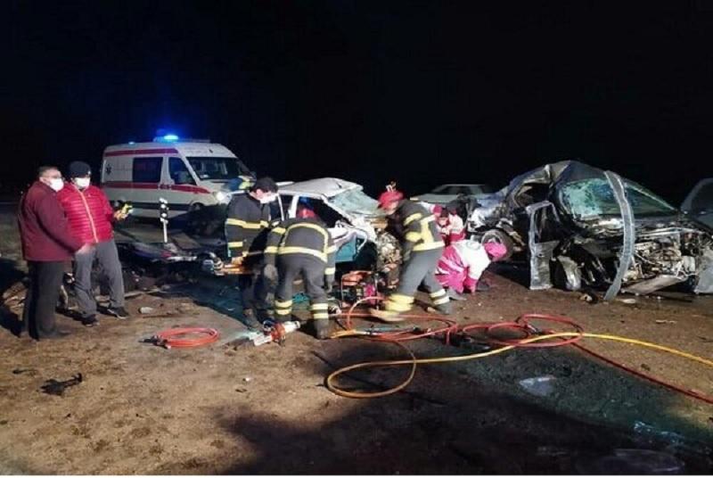 تصادف خونین در ارومیه؛ 4 نفر جان باختند