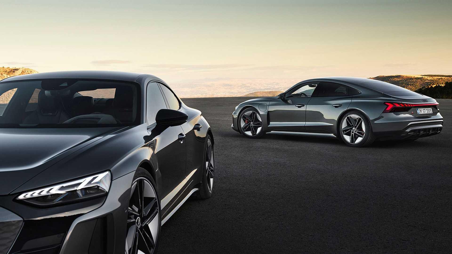 آئودی ای ترون GT و RS ای ترون معرفی شد