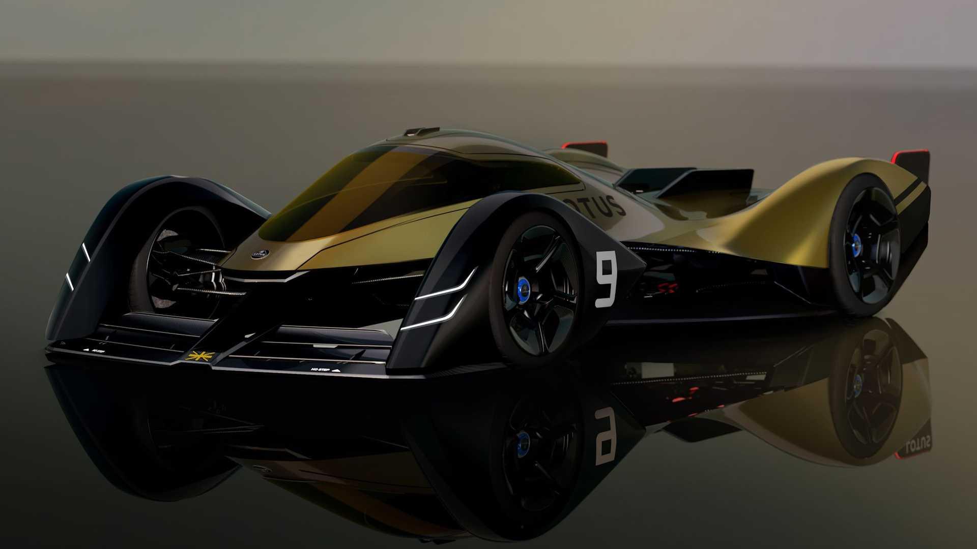 خودروی مفهومی لوتوس E-R9 معرفی شد