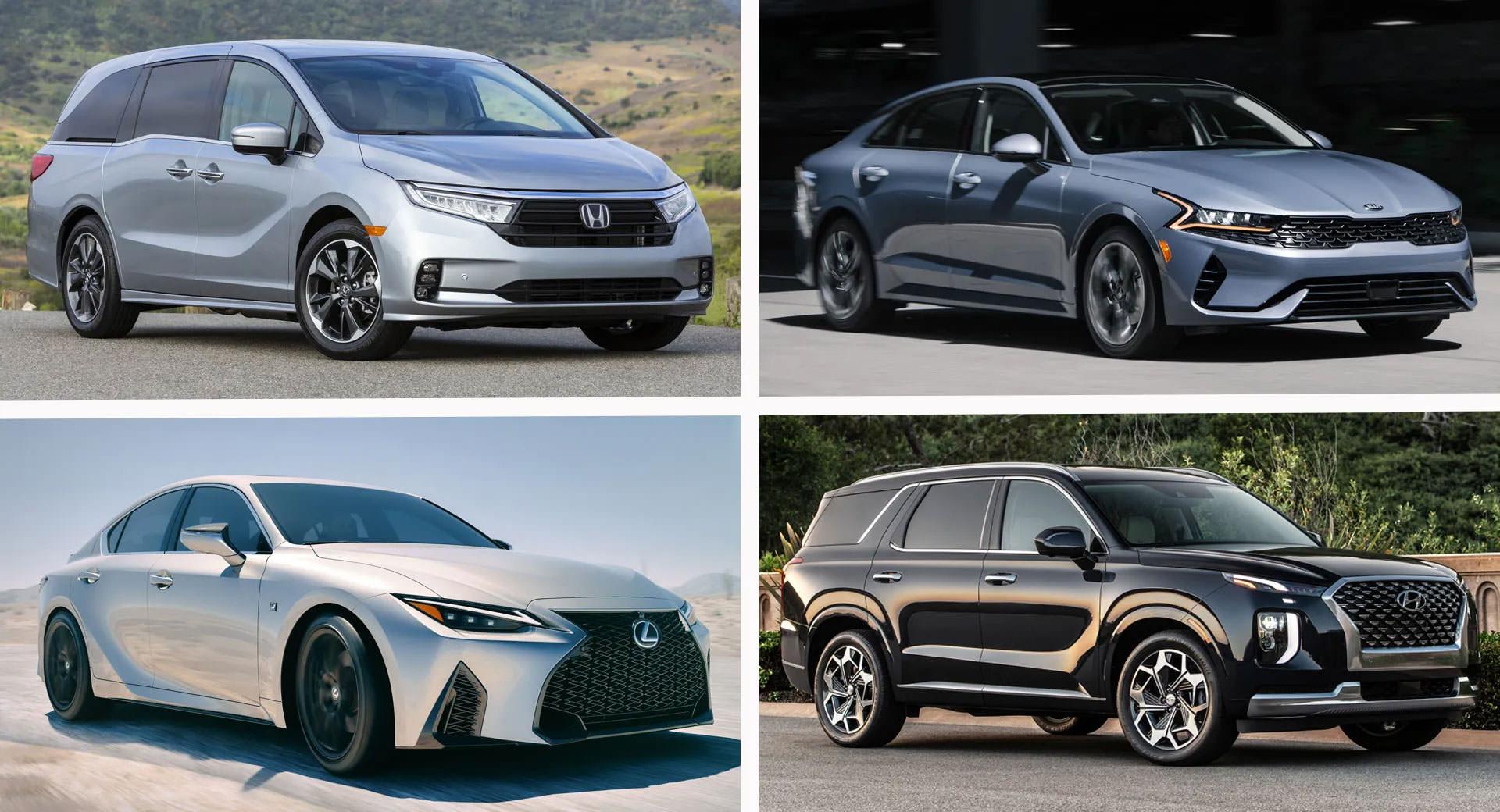 ایمن ترین خودروهای بازار جهانی در سال ۲۰۲۱