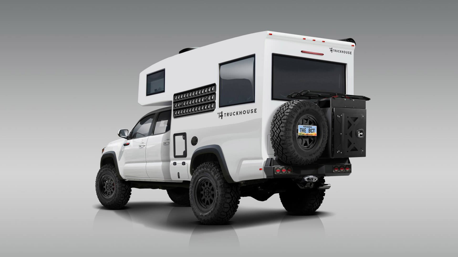 خودروی تفریحی تراک هاوس مبتنی بر وانت تویوتا تاکوما معرفی شد