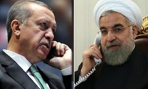 گفت و گوی روحانی و اردوغان با محوریت تحریم های امریکا