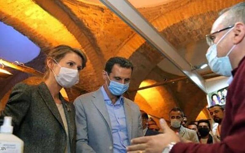 بشار اسد و همسرش به کرونا ابتلای بشار اسد و همسرش به کرونا