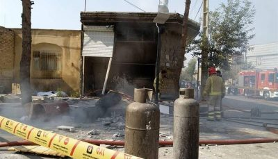 انفجار کپسول گاز با یک مصدوم در اصفهان