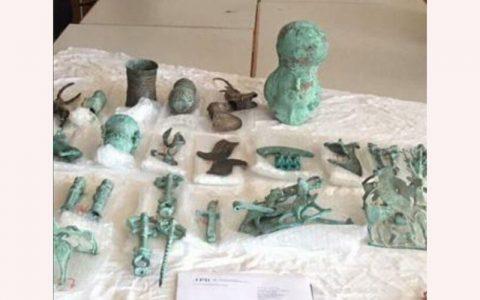 بازگشت ۳۰ شیء باستانی ایران به کشور به زودی