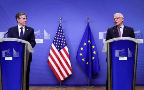 بیانیه مشترک آمریکا و اتحادیه اروپا درباره برجام