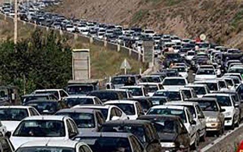 ترافیک فوق سنگین در جادههای مازندران