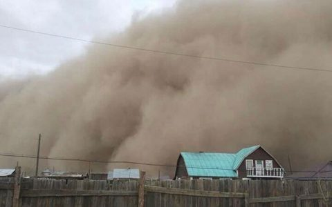توفان شدید در مغولستان با ۶ کشته و بیش از ۸۰ مفقود