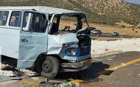 حادثه رانندگی در فولاد شهر اصفهان ١٢ مصدوم داشت