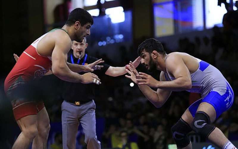 حسن یزدانی ملی پوش ایران در المپیک توکیو شد/ پیروزی اطری مقابل عموزاد