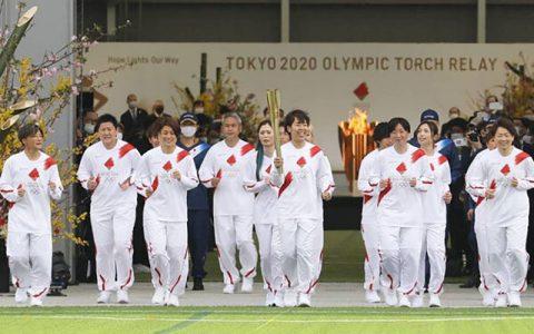 حمل مشعل المپیک ۲۰۲۰ آغاز شد/ سفر «شعله امید» به ۸۵۹ شهر ژاپن