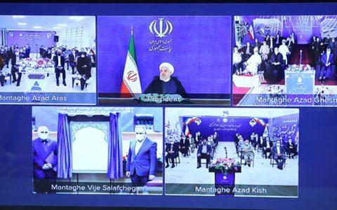 رئیس جمهور: شعار سال را در سراسر کشور مجسم می کنیم