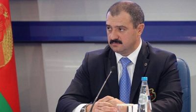 رد صلاحیت لوکاشنکو از سوی IOC
