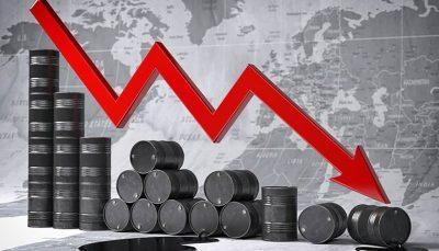 قیمت نفت رکورد زد ریزش قیمت نفت رکورد زد
