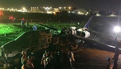 سقوط هواپیمای در سودان/ ۱۰ نفر کشته شدند / عکس