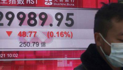 آسیا اقیانوسیه رشد کرد سهام آسیا اقیانوسیه رشد کرد
