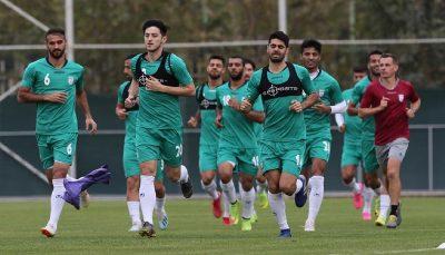ممنوعیت حضور رسانه ها در تمرینات تیم ملی فوتبال