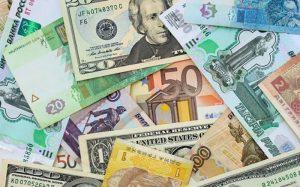 قیمت رسمی یورو و ۲۱ ارز دیگر پایین آمد