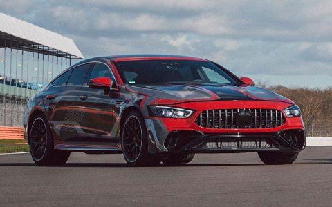 AMG GT چهار درب هیبریدی تأیید میشود مرسدس AMG GT چهار درب هیبریدی تأیید میشود