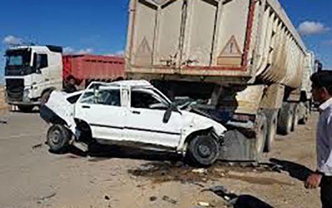 مرگ ۴ عضو یک خانواده در تصادف