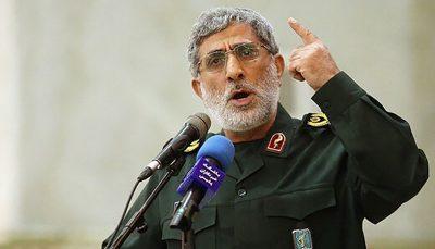 هشدار جدی سردار قاآنی به آمریکا و اسرائیل/ دیوار اطراف اسرائیل را خراب خواهیم کرد