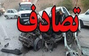 وقوع یک تصادف در اهواز یک کشته و یک مصدوم برجای گذاشت