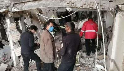 مصدوم در انفجار پاکدشت تهران ۱۱ مصدوم در انفجار پاکدشت تهران