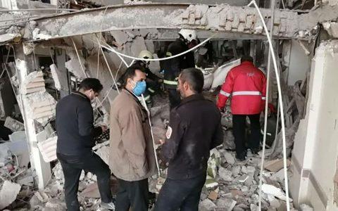 ۱۱ مصدوم در انفجار پاکدشت تهران