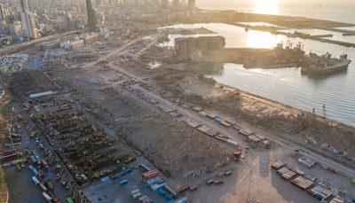 ۵۲ کانتینر مواد منفجره همچنان در بندر بیروت است