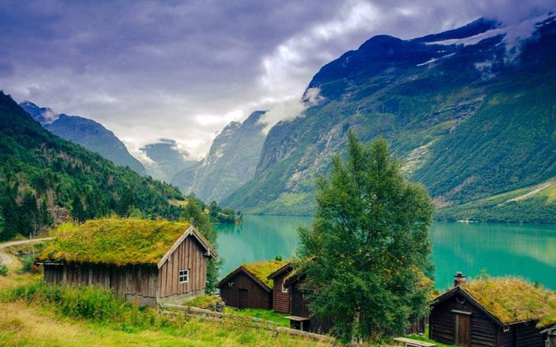 سفر به رؤیایی ترین رودخانه نروژ/ تصاویر