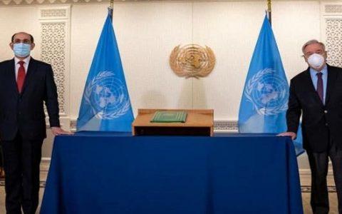 تاکید گوترش بر همکاری با دولت سوریه