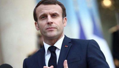 رئیس جمهور فرانسه ایران را به نقض برجام متهم کرد