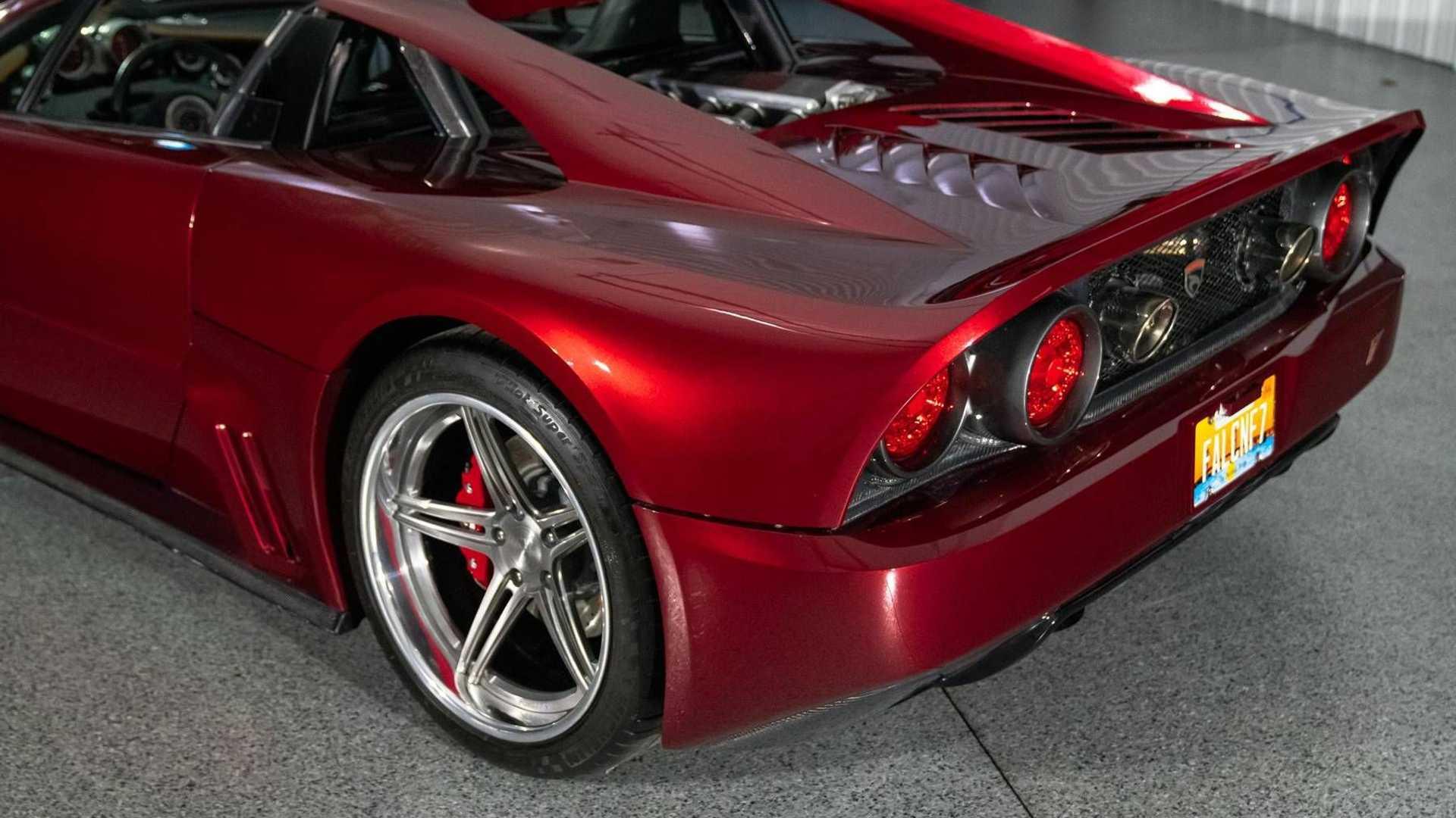 فالکن F1؛ خودرویی که فقط 6 دستگاه از آن وجود دارد! / عکس