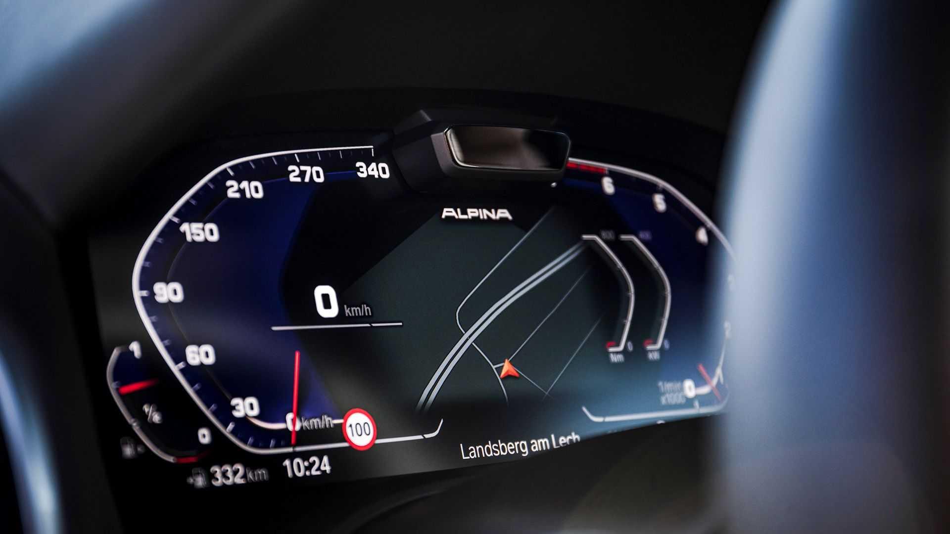 آلپینا بی8؛ ویرایشی خاصی از سدان لوکس ب ام و با بیشینه سرعت 323 کیلومتر برساعت / عکس