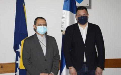 1322134 298 سفیر ایران با وزیر آوارگان بوسنی و هرزگوین دیدار کرد