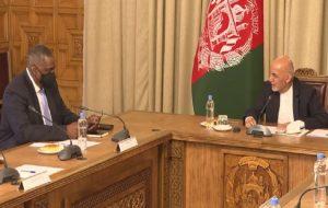 وضعیت افغانستان موضوع گفتگوی وزیر دفاع آمریکا و اشرف غنی