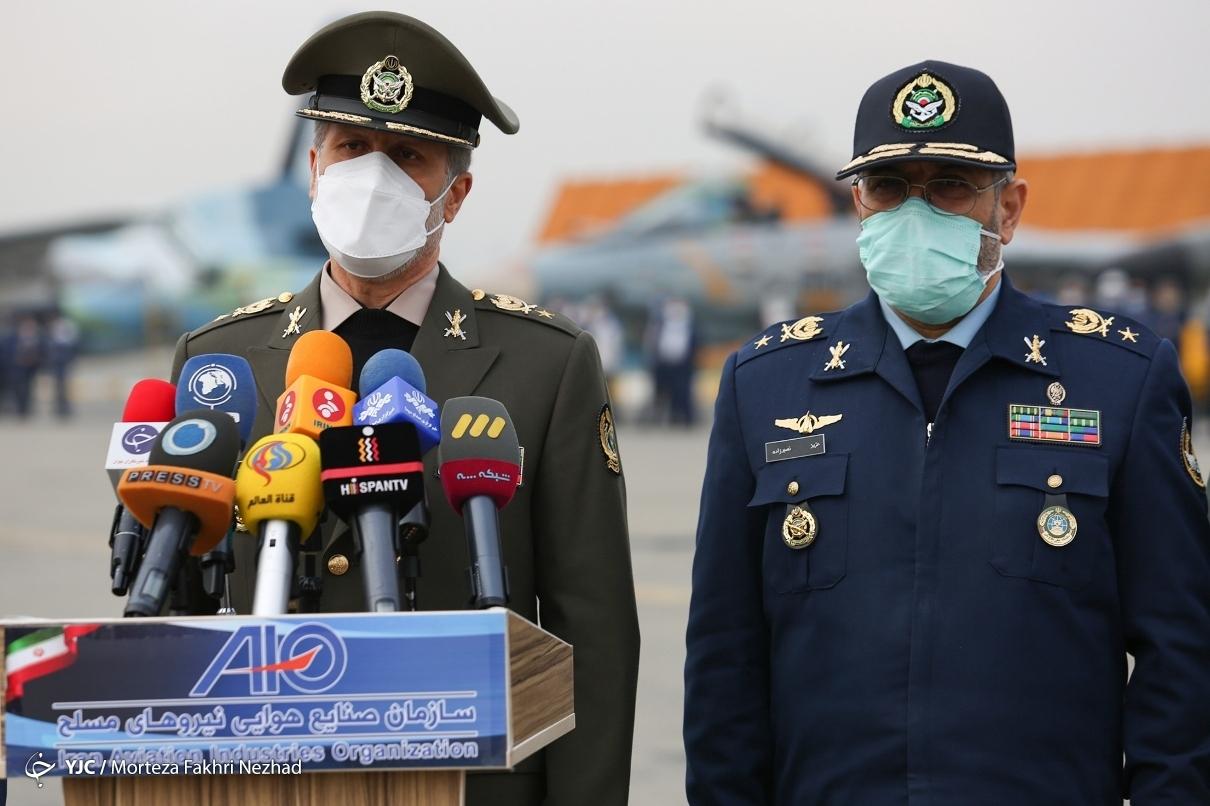 مراسم تحویل انواع هواپیماهای نظامی، ترابری سنگین و بالگرد به نیروهای مسلح/ تصاویر