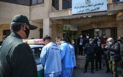 شناسایی و دستگیری اراذل و اوباش محله فلاح