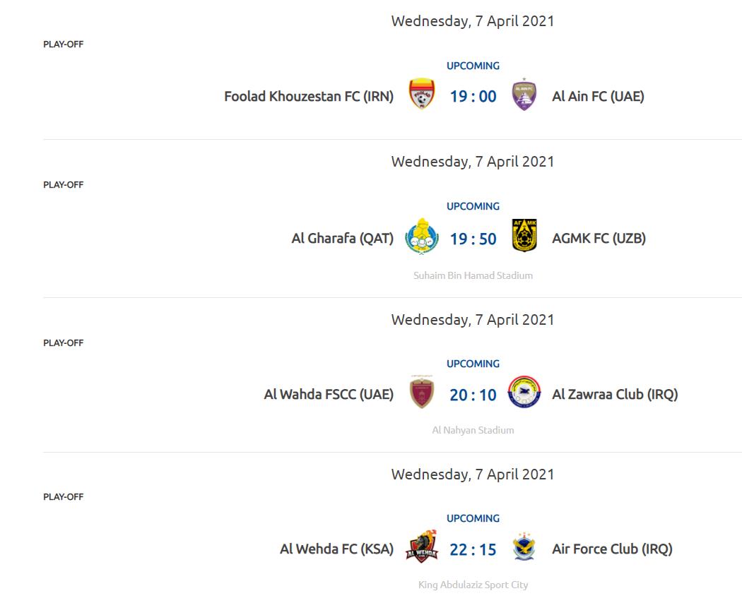 حذف میزبانی فولاد مقابل العین در پلیآف لیگ قهرمانان آسیا در سایت AFC/ عکس