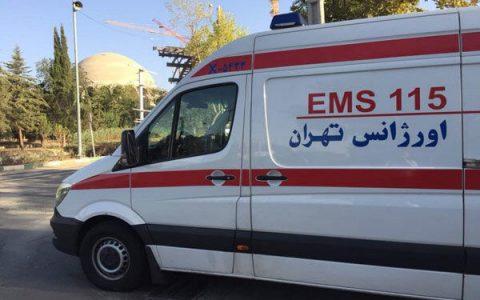 آمبولانس های اورژانس در نقاط پر تردد تهران مستقر شدند