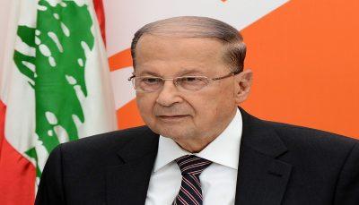 درخواست غرامت رئیس جمهور لبنان از تل آویو