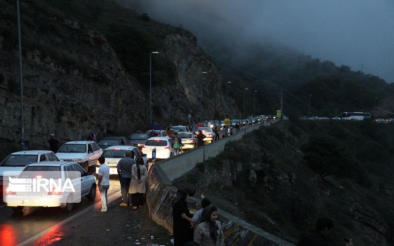 ترافیک سنگین جاده های مازندران را قفل کرد
