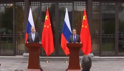 لاوروف: تحریمهای اتحادیه اروپا علیه چین مغایر با قوانین بینالمللی است