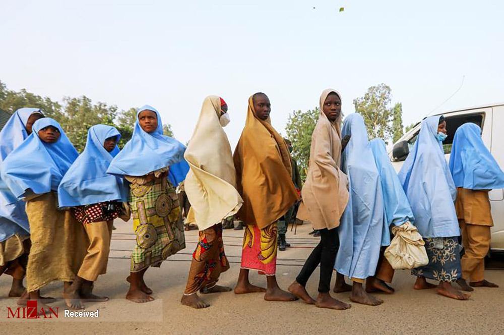 آزادی دختران نیجریهای/ عکس