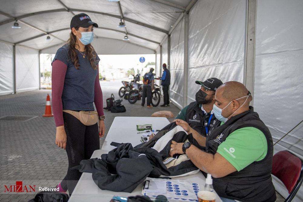 اولین زن سعودی در مسابقات بین المللی رالی