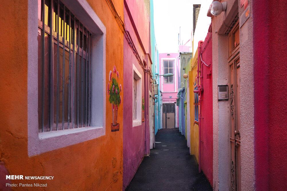 کوچه رنگی منطقه ۱۶