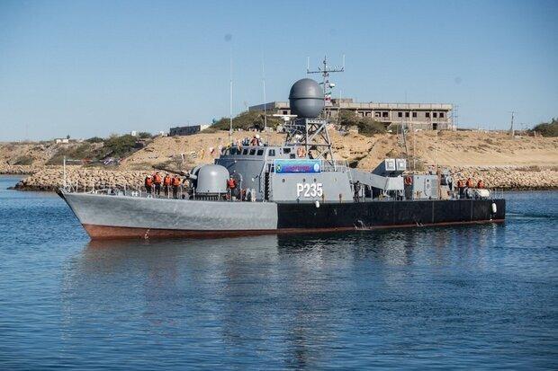 غولهای نظامی ایران در دریا/ عکس